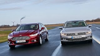 Download Ford Mondeo Turnier vs. VW Passat Variant Video