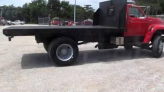 Download 1999 Ford F800 flatbed truck Demo Video