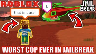 Download WORST COP EVER | Roblox Jailbreak Video
