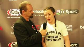 Download Post-Fight Interview with Molly McCann at Cage Warriors 88 Video