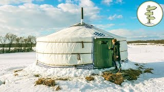 Download Amazing One Of A Kind Yurt - Full Tour + Pros & Cons of Yurt Living Video