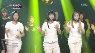 Download 140411 크레용팝 어이 뮤직뱅크 Video
