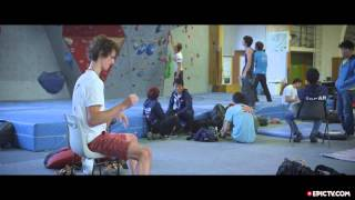 Download Adam Ondra's Best Ever Result In The Chamonix World Cup | Presented By La Sportiva Video