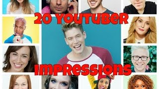Download 20 YOUTUBER IMPRESSIONS! Video