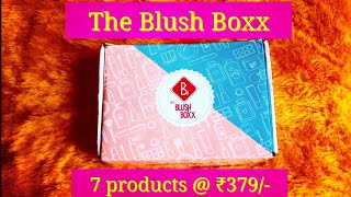 Download *New* The Blush Boxx  First on YouTube  Beauty box @ ₹379   Makeup   Skincare   7 products Video