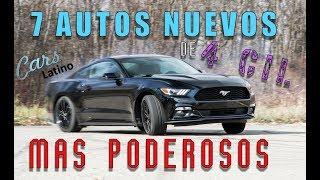Download Los 7 Autos Nuevos de 4 Cilindros mas Poderosos *CarsLatino* Video