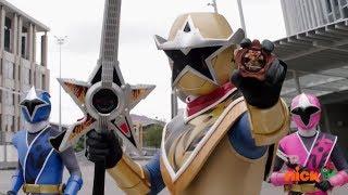 Download Gold Ranger to the Rescue | Power Rangers Ninja Steel | Halloween Episode ″Grave Robber″ Video