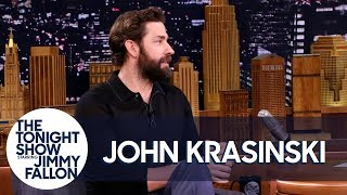 Download John Krasinski Wants to Retire After Directing Wife Emily Blunt in A Quiet Place Video