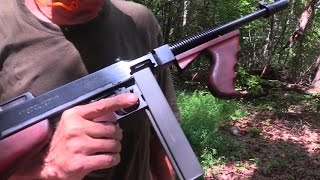 Download Thompson Submachine Gun Woods Walk Video