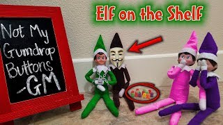 Download Evil Elf on the Shelf Disguised as Game Master!!! Mad About Gingerbread Man House! GM Day 7 Video