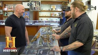 Download Pawn Stars: Dana White Wants Rick's 1600s Japanese Katana (Season 15) | History Video
