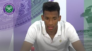 Download Felix Auger-Aliassime Wimbledon 2019 second round press conference Video