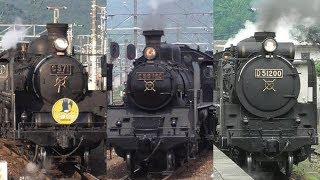 Download [速報版] SL 3両 C56-160 C57-1 D51-200 新山口駅に集結 Video