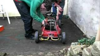 Download Selbstgebautes Go Kart aus Rasenmäher Video