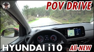 Download All-NEW HYUNDAI i10 1.0 l 64 hp (48 kW) POV DRIVE Portugal Country Roads On-Board | 2020 Video
