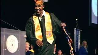 Download Abdul Razak Ali Artan at Columbus State Community College Graduation May 2016 Video