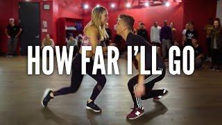 Download MOANA - How Far I'll Go | Kyle Hanagami Choreography Video