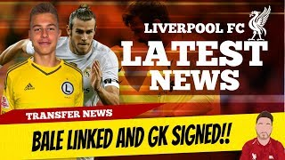 Download Gareth Bale To Liverpool Rumours and Liverpool Sign A GK!! | Liverpool Transfer News Video