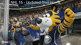 Download NHL 16 - Updated Goal Horns (no crowd/coms volume) Video