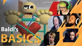 Download Gamers Reactions to the 1ST PRIZE (NEW CHARACTER) | Baldi's Basics Video