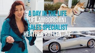Download A Day in the life of Lamborghini Sales Specialist Heather Ballentine Video