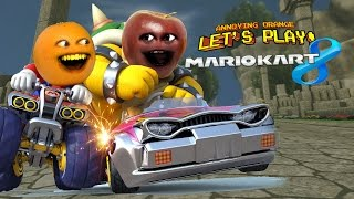 Download MARIO KART 8 | Annoying Orange vs Midget Apple Video