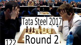 Download Tata Steel 2017 - Round 2 with Carlsen-Wojtaszek Video