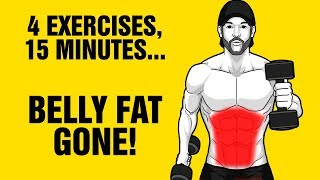 Download 15min Extreme Dumbbell Fat Loss Workout - Lose Belly Fat Fast - Sixpackfactory Video