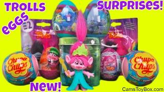 Download Trolls Dreamworks Surprise Toys Blind Bags Series 2 Chupa Chups Lollipops Plastic Chocolate Eggs Fun Video