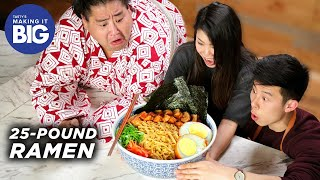 Download We Made A Giant 25-Pound Ramen Bowl For A Sumo Wrestler •Tasty Video