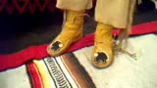 Download Ojibwa wrap moccasins Video