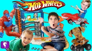 Download Hot Wheels SUPER ULTIMATE Motorized Toy Garage Review Video