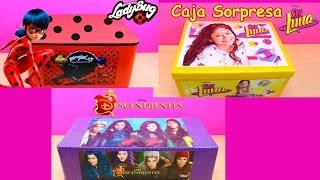 Download Caja Sorpresa de SOY LUNA Caja Sorpresa de Prodigiosa Las Aventuras de LADYBUG y Los Descendientes Video