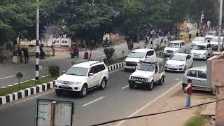 Download महामहिम राष्ट्रपति श्री रामनाथ कोविंद का काफिला Video
