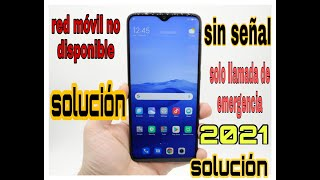 Download RED MOVIL NO DISPONIBLE ,solo llamadas de emergencia [ SOLUCION] Video