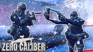 Download TACTICAL MINI SOLDIER INFILTRATION! - Zero Caliber VR Gameplay - Frostbite Mission Video