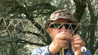 Download Tejer red para bushcraft y Supervivencia Video