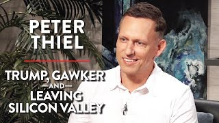 Download Peter Thiel on Trump, Gawker, and Leaving Silicon Valley (Full Interview) Video