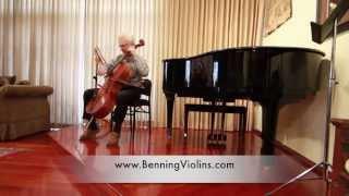 Download Cellist Ronald Leonard Performs at Benning Violins 60th Anniversary Video