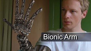 Download CGI Bionic Arm - Demo Reel Video