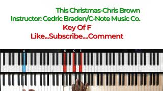 Download This Christmas-Chris Brown Easy Piano Tutorial Video