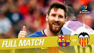Download Full Match FC Barcelona vs Valencia CF LaLiga 2017/2018 Video