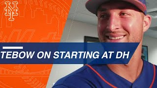 Download Tim Tebow singles, talks about his hit vs. the Nats Video