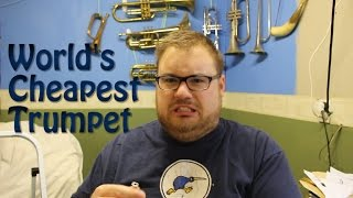 Download The World's Cheapest Trumpet | Unboxing and Review | Bach's Badinerie number 2 Video
