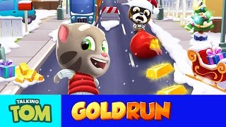 Download Talking Tom Gold Run (NEW UPDATE) - Run to Catch the Winter Fun! Video