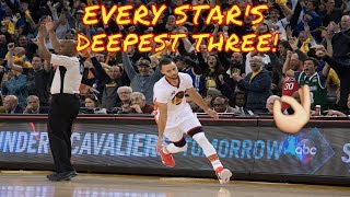 Download Every NBA Star's Deepest Shot! Video