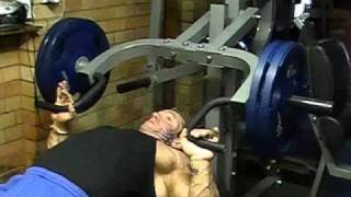 Download Lee Priest Flat Bench Press on Powertec Multi System Video