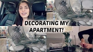 Download DECORATING MY NEW APARTMENT! SHOP WITH ME Video