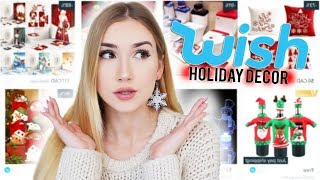 Download TRYING HOLIDAY DECORATIONS FROM WISH!! Video