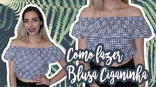 Download Como costurar Blusa Ciganinha | Muito fácil! Video
